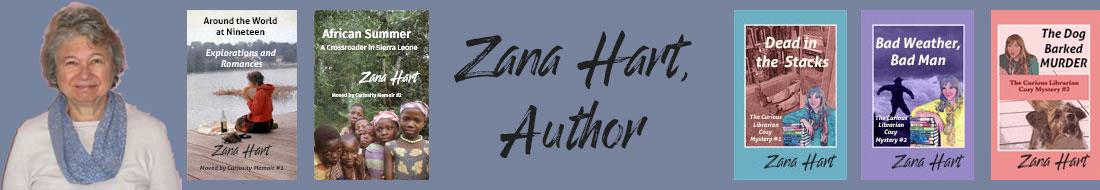 Zana Hart, Author