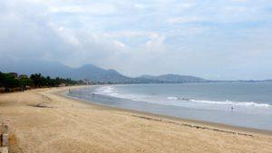 beach near Freetown Sierra Leone