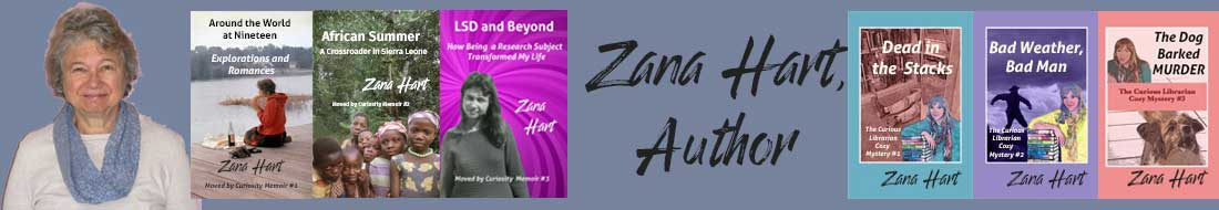 Zana Hart, Author